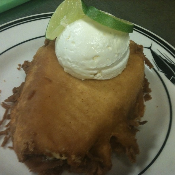 Fair Style Fried Key Lime Pie @ The Oceanaire Seafood Room