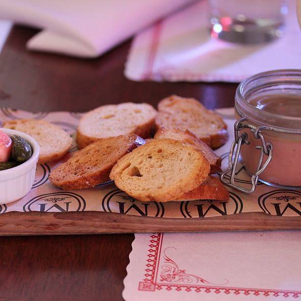 Foie Gras Mousse - Morels French Steakhouse & Bistro (at The Grove), Los Angeles, CA