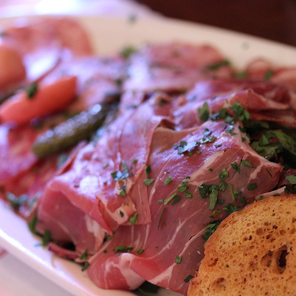 Charcuterie plate - Morels French Steakhouse & Bistro (at The Grove), Los Angeles, CA