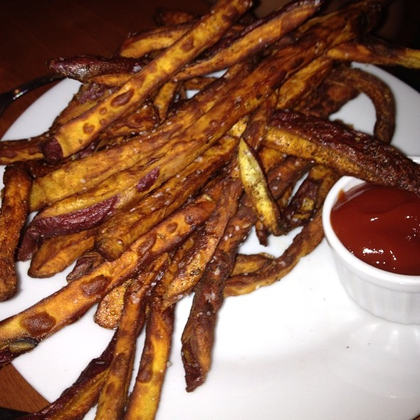 Sweet Potato Fries With Cumin - Cafe Aion, Boulder, CO
