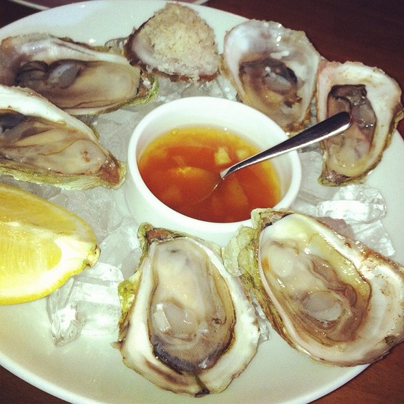 Green Gables Oysters @ CHARCUT Roast House