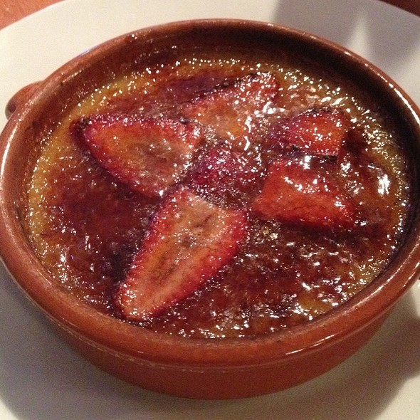 Strawberry And Thyme Creme Brule - Cafe Aion, Boulder, CO