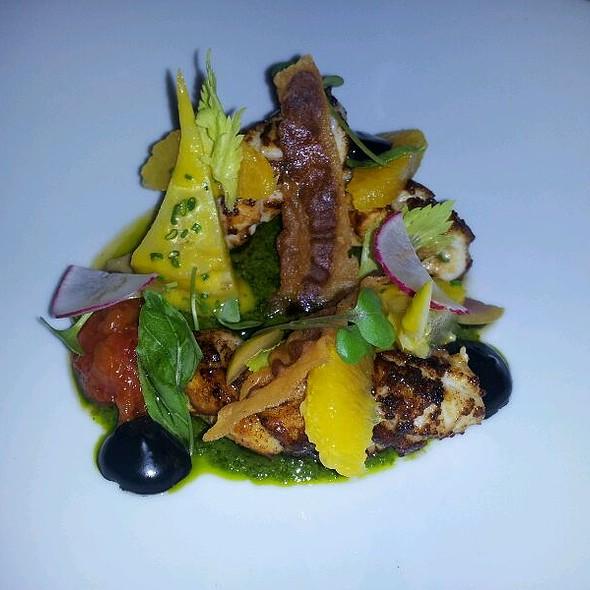 Caramalized Squid @ Hawksworth Restaurant