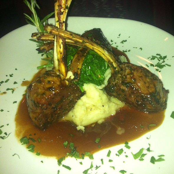 Rack of Lamb @ 709 Point Beach