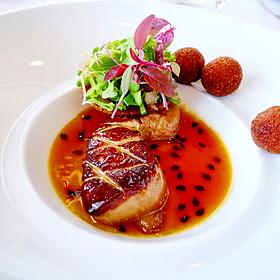 Warm Foie Gras with Passion Fruit - La Mer at Halekulani, Honolulu, HI