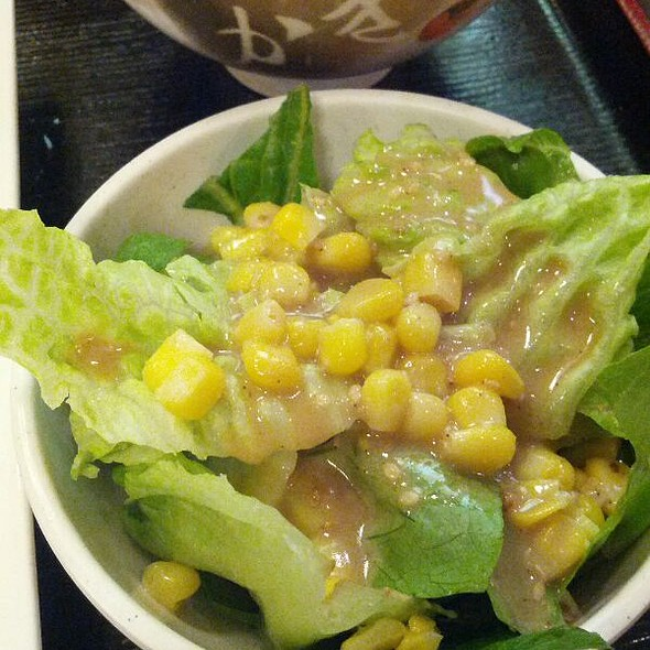 Side Salad @ Sapporo Ramen