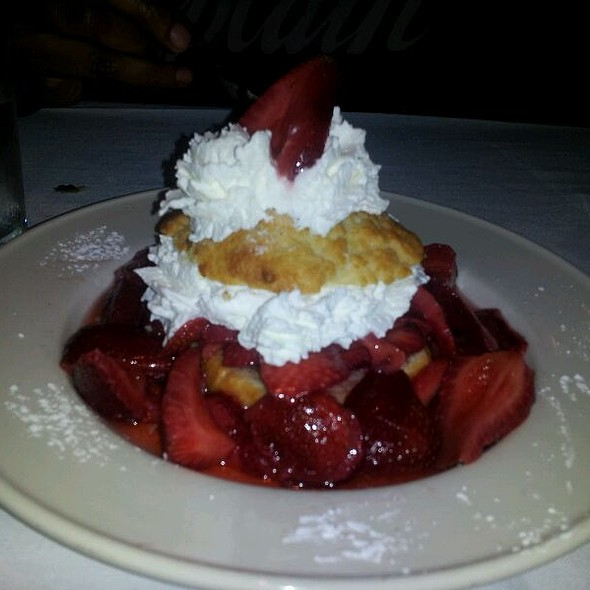 strawberry shortcake - Old Ebbitt Grill, Washington, DC