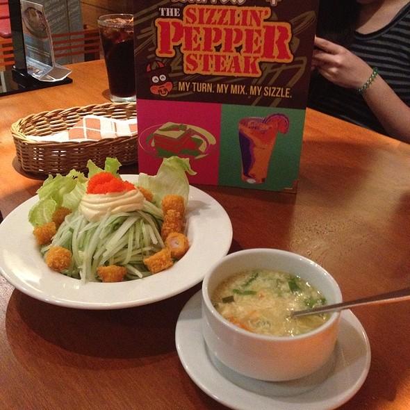 Pork Pepper Steak @ Sizzling Pepper Steak