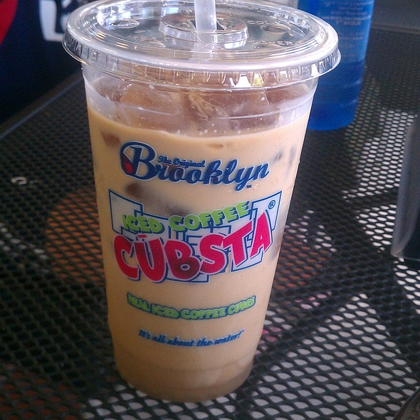 Iced Coffee @ The Original Brooklyn Water Bagel Co.