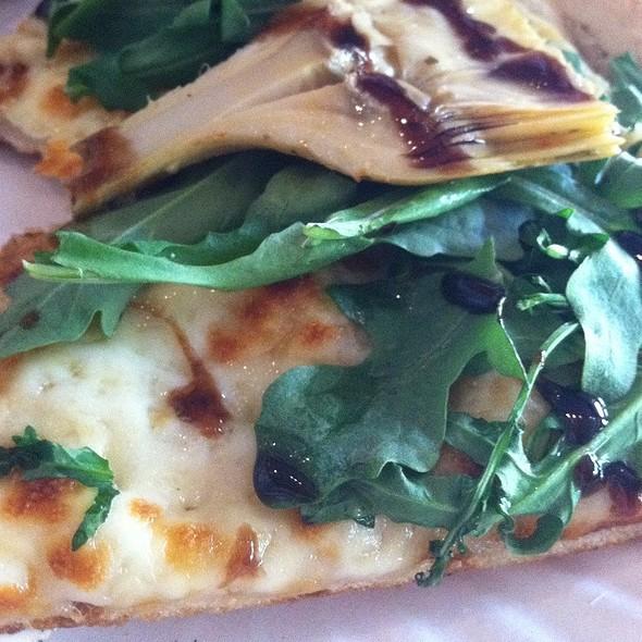Artichoke Arugula Balsamic Pizza @ Rustica