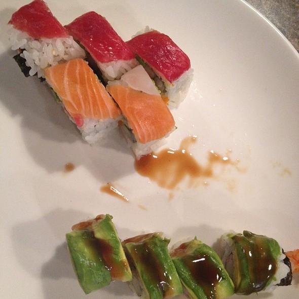 Green Dragon Roll @ Aji Sai japanese Restaurant