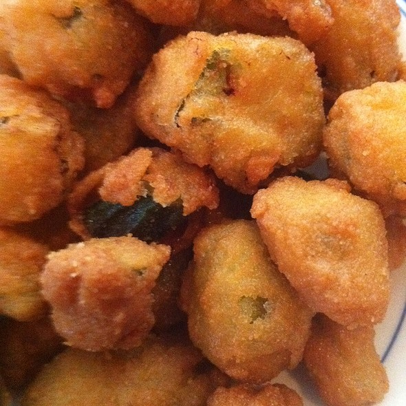 Fried Okra @ Five Sisters Blues Café