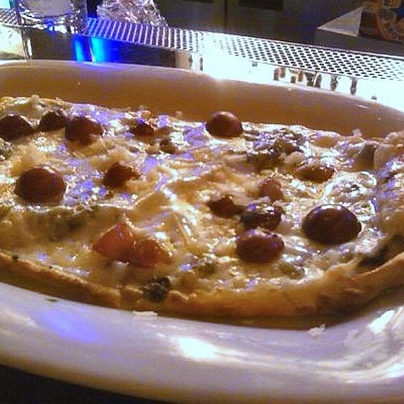 Spanish Ham Flatbread - Sorriso - Bar Celona, Pasadena, CA