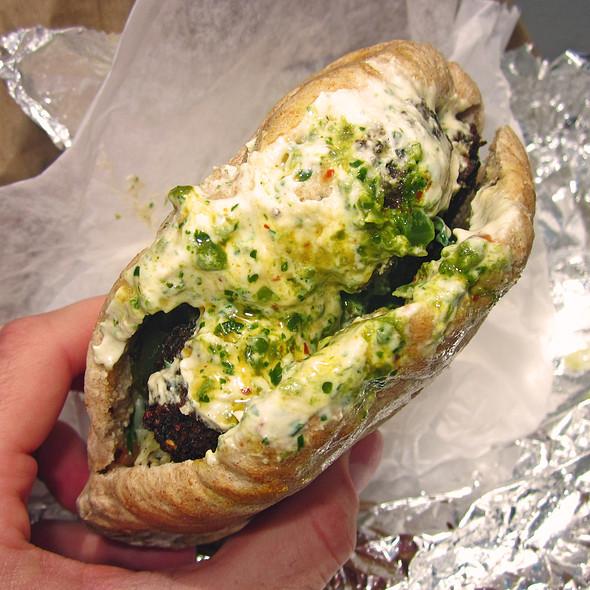 Falafel Sandwich @ Taim Mobile