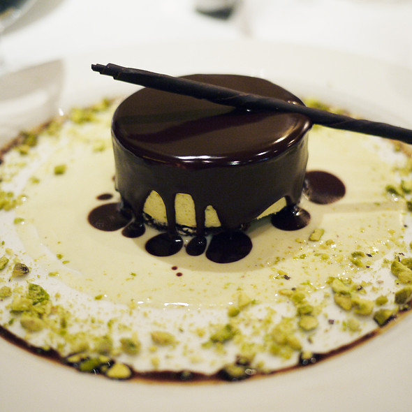 Pistachio and Chocolate Semifreddo - Babbo Ristorante, New York, NY