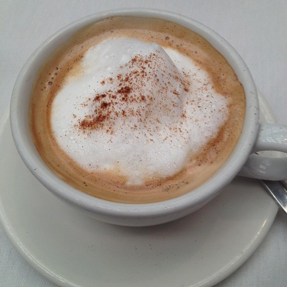 Cappuccino @ Juban's Restaurant & Catering
