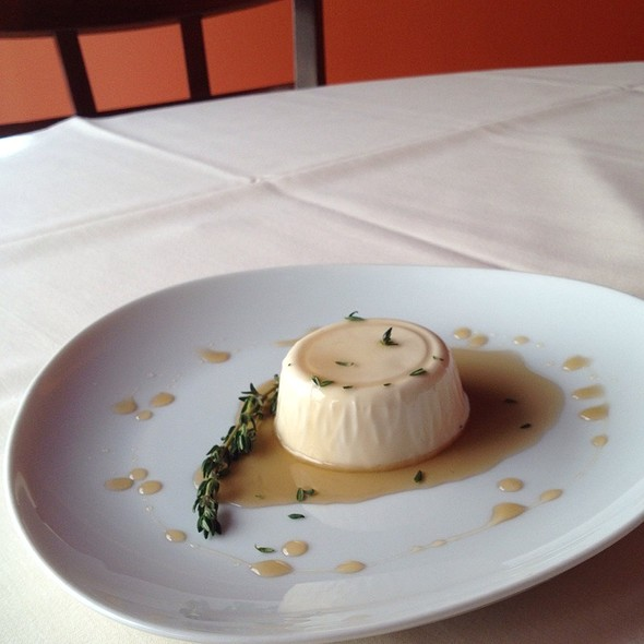 Maple Thyme Pannacotta @ Zuppa