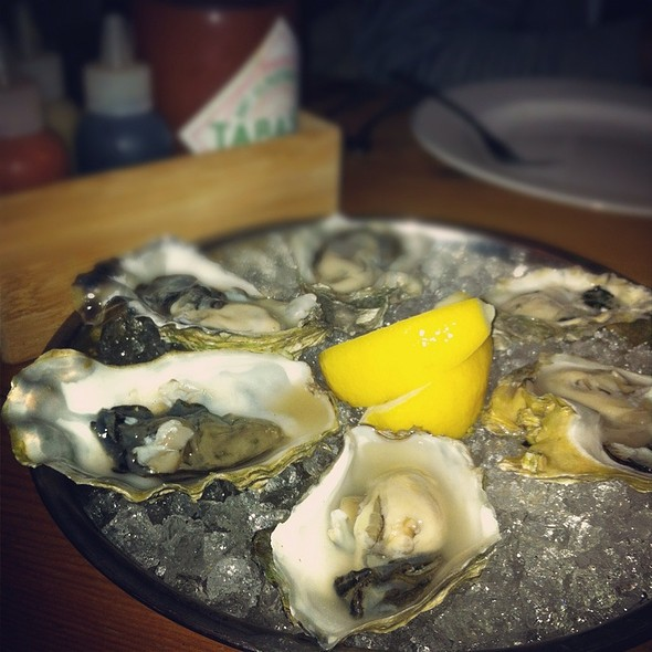 Chef Creek Oysters @ Big Fish