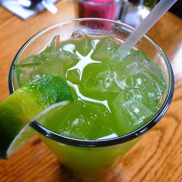 Fresh Squeezed Cucumber Mint Limeade @ Spring Street Natural Restaurant
