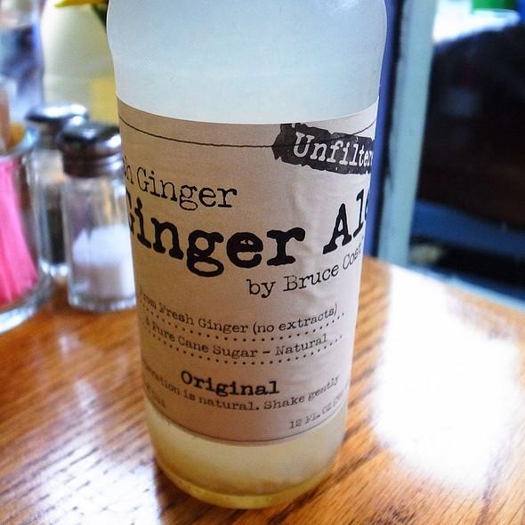 Ginger Ale @ Spring Street Natural Restaurant