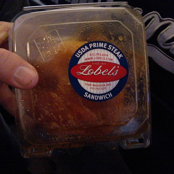 Lobel's Prime Steak Sandwich @ Yankee Stadium, New York