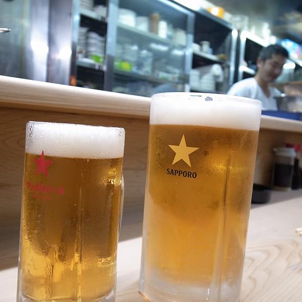 ビール @ つく志