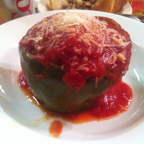 Stuffed Bell Pepper @ Salumi Artisan Cured Meats