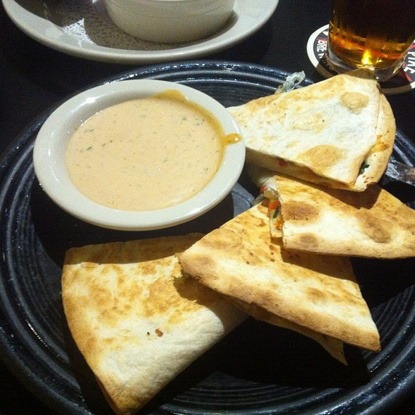 Vegetarian Quesadilla @ Pike Pub & Brewery