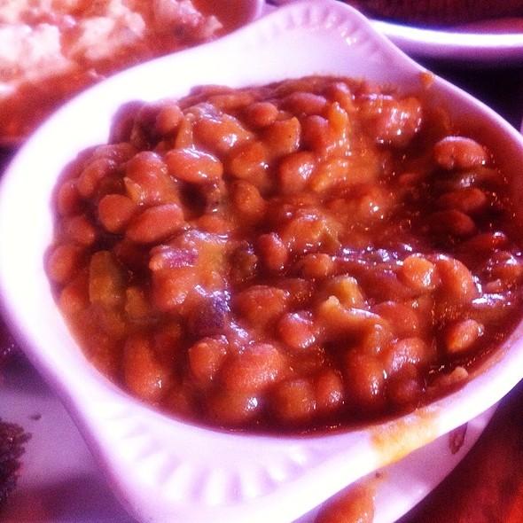 BBQ Baked Beans @ Slows Bar-b-q