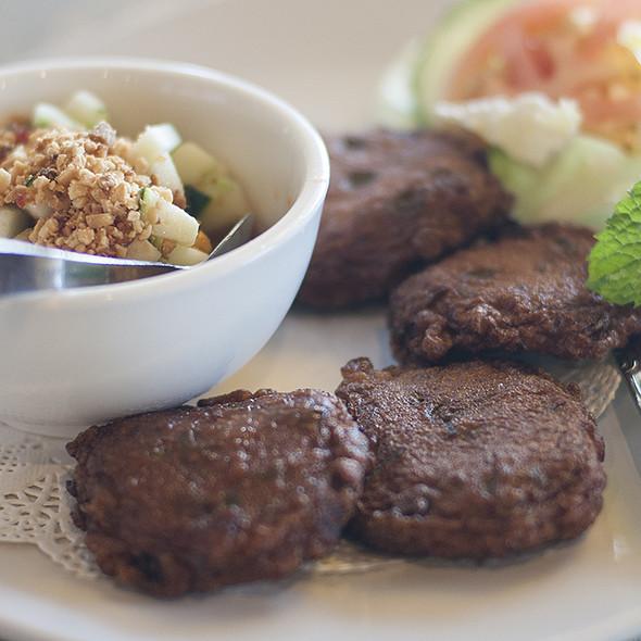 Thai Fish Cakes @ pad thai restaurant