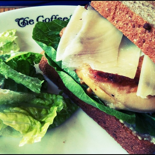 Grilled Chicken Caesar Sandwich @ The Coffee Bean and Tea Leaf