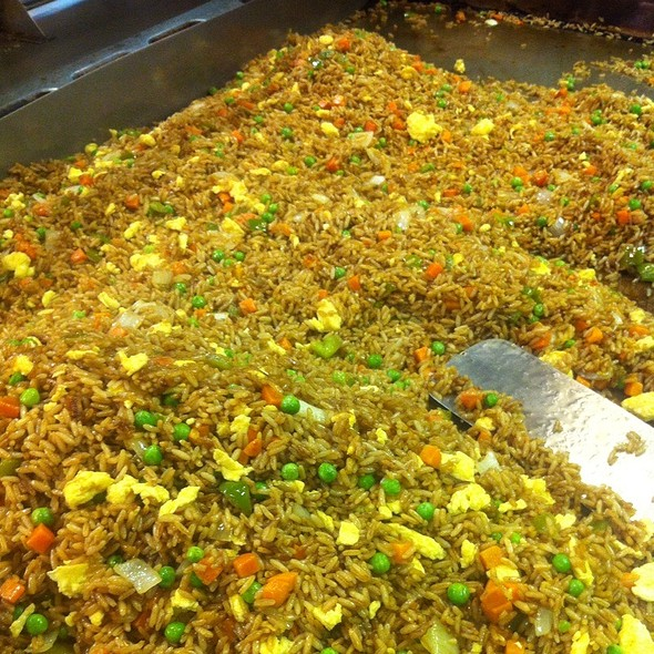 Vegetable Fried Rice @ The Skinny Chef Inc
