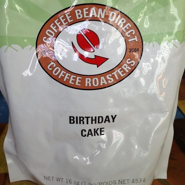 Coffee - Birthday Cake Flavored  @ Home