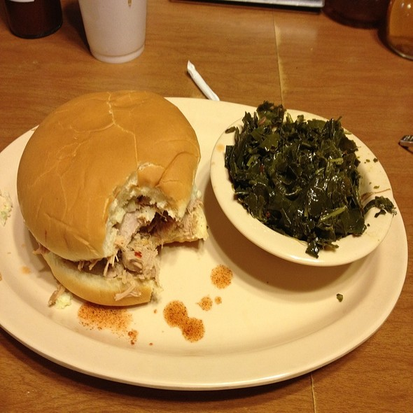 big Barbecue Sandwich @ Wilber's Barbecue
