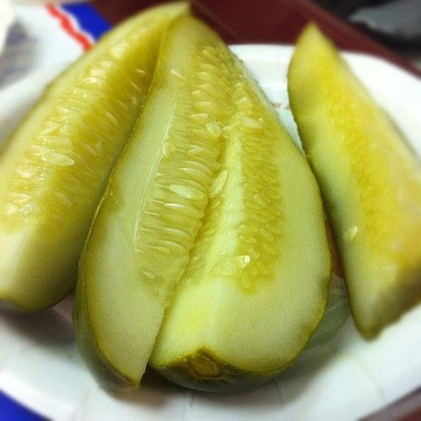 Kosher Dill Pickles @ Attman's Delicatessen