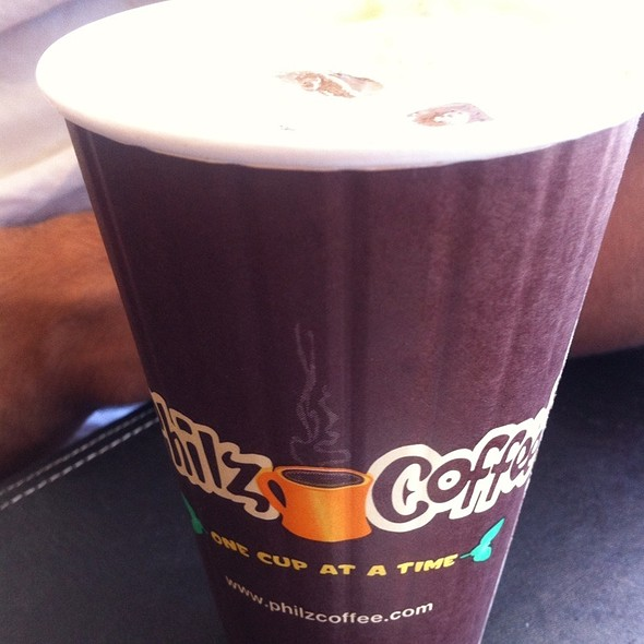 The Ecstatic Iced Coffee @ Phil's Coffee