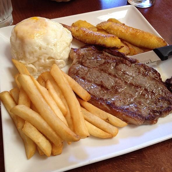 Bisteck a lo Pobre @ Inkas Restaurant
