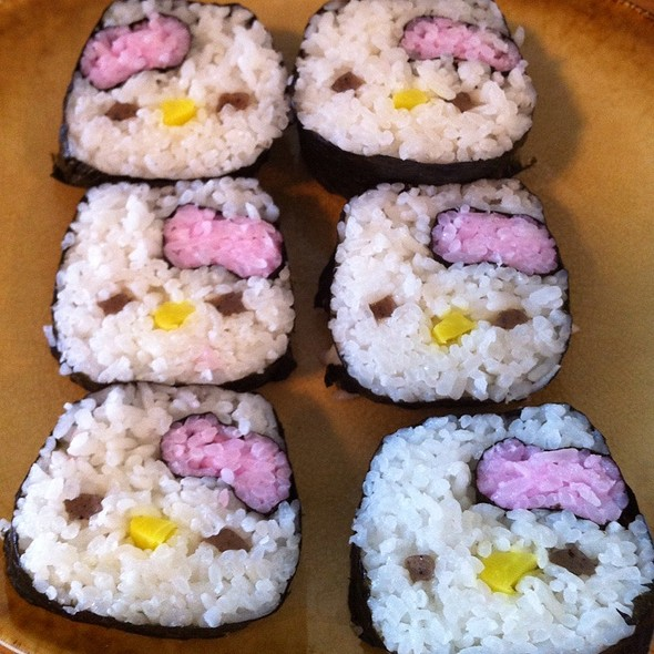 Hello Kitty Sushi Rolls @ At Home