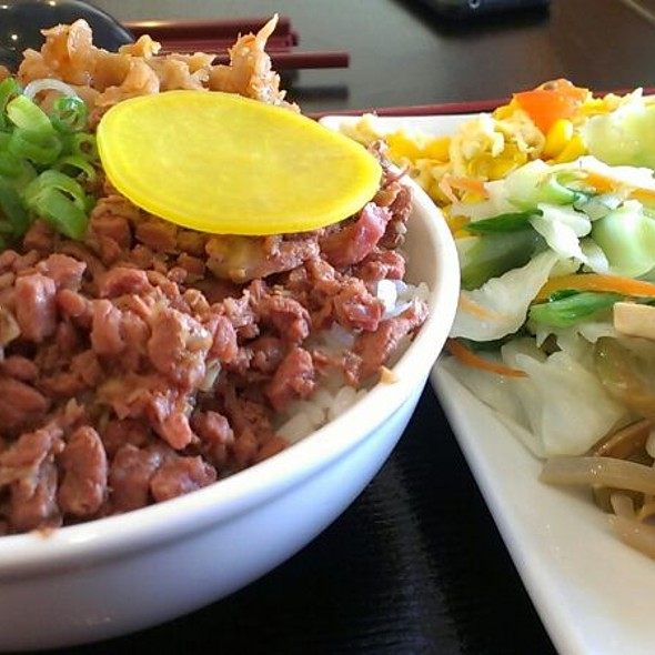 Minced Pork Rice @ Why Thirsty