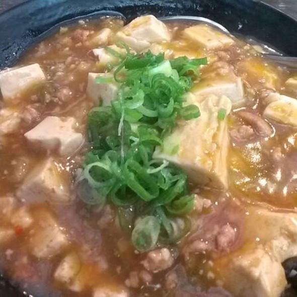 Mapo Tofu Rice @ Ramen Yamadaya