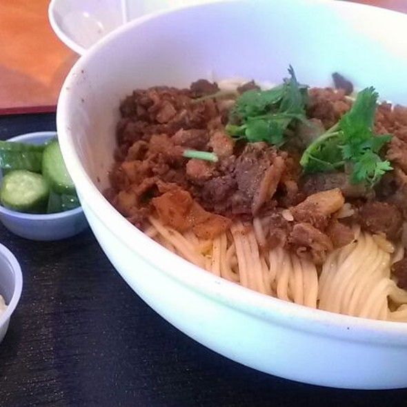 Minced Pork Dry Noodles @ Guppy House