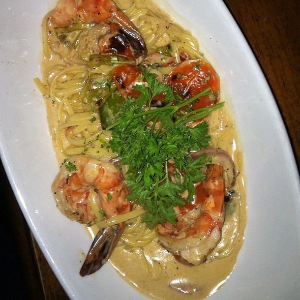 Spicy Shimp Pasta @ Mesa Street Grill