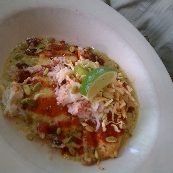 Dungeness Crab Tamale @ Cactus Restaurant