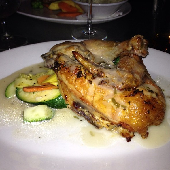 Roast Chicken with Garlic/Preserved Vegetable - The Front Page - DC, Washington, DC