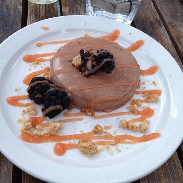 Chocolate Panna Cotta @ The Bellevue