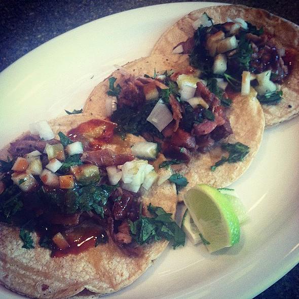 Pulled Pork Tacos @ Brand BBQ Market