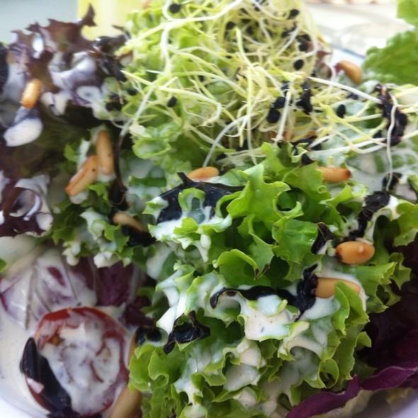 Salad @ Panorama Restaurant Rothorngipfel