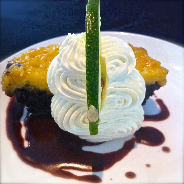 Key Lime Pie @ Brasserie Boheme