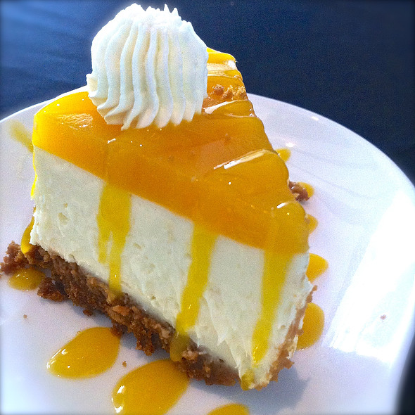 Mango Mousse Cake @ Brasserie Boheme