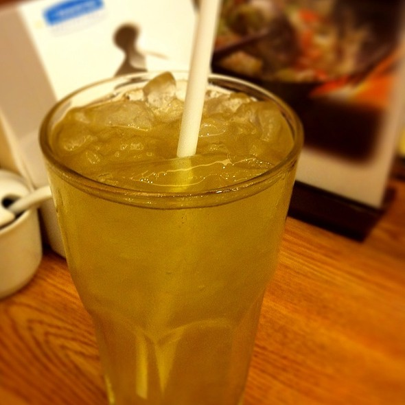Green Tea Matcha @ ฮะจิบัง ราเมน เซ็นทรัลแจ้งวัฒนะ